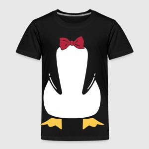 penguin with bow tie T-shirts - Premium-T-shirt barn
