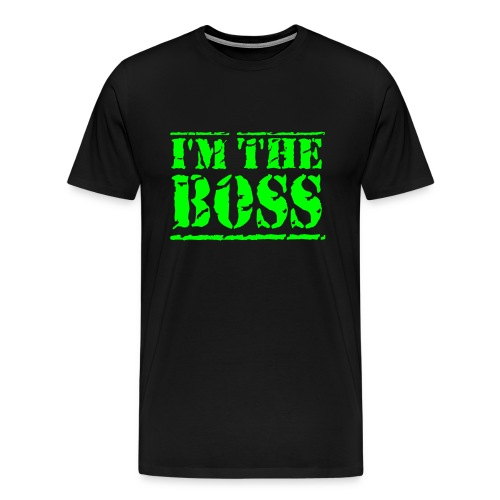 I´M THE BOSS Tee - Herre premium T-shirt