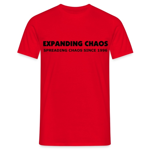 Chaos since 1996 (Front v1.1) - T-shirt herr