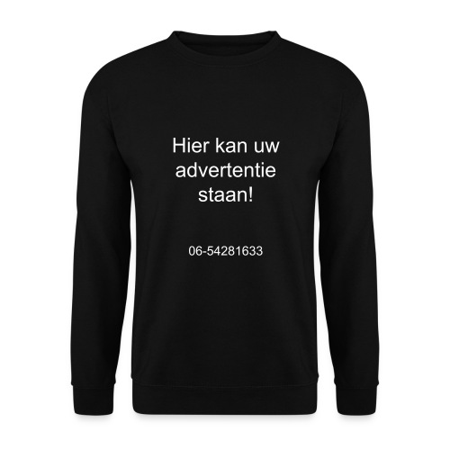 advertentie - Mannen sweater