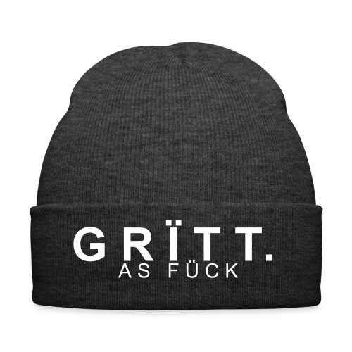 GRITT As Fuck Beanie - Winter Hat