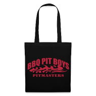 Bags & Backpacks ~ Tote Bag ~ Official BBQ Pit Boys Tote Bag