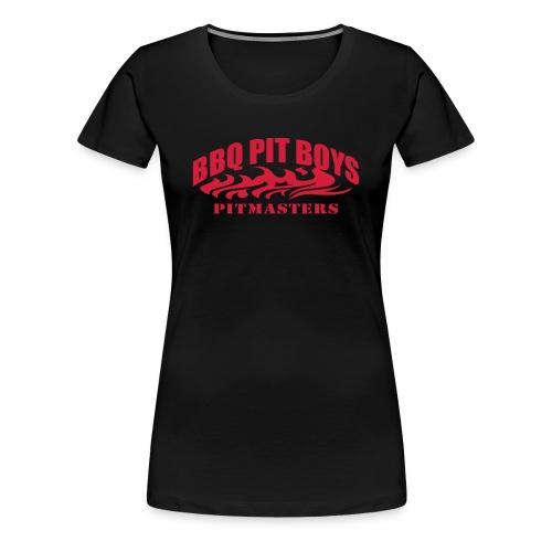 Official BBQ Pit Boys Womens T-Shirt      - Women's Premium T-Shirt