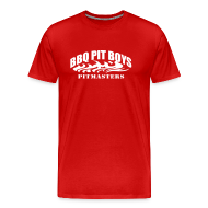 T-Shirts ~ Men's Premium T-Shirt ~ Official BBQ Pit Boys Mens T-Shirt
