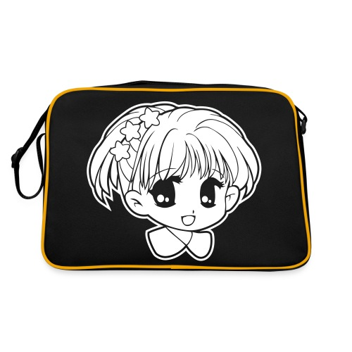 Kawaii manga girl bag - Retro Bag