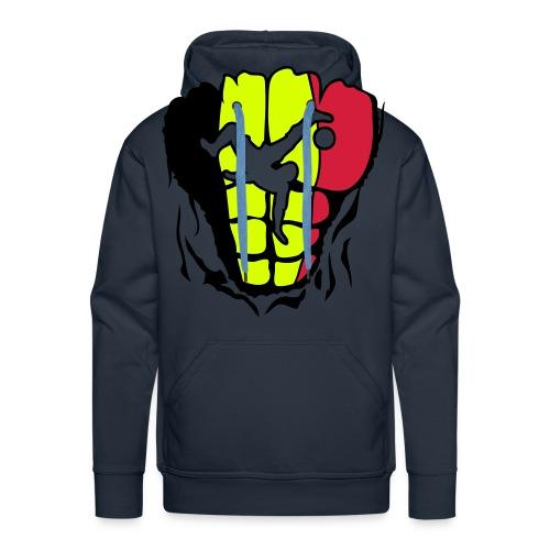 Diables Rouge - Sweat-shirt à capuche Premium pour hommes