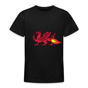 Boys London Welsh T-Shirt - Teenage T-shirt