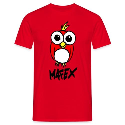 Vogel rot - Männer T-Shirt