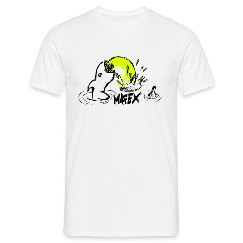 Hai weiß - Männer T-Shirt