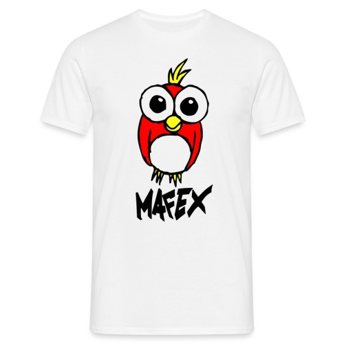 Vogel weiß - Männer T-Shirt