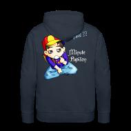 Sweat-shirts ~ Sweat-shirt à capuche Premium pour hommes ~ Mini-Kriss - Pourquoi -Sweat