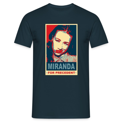 Miranda for Precedent  - Men's T-Shirt