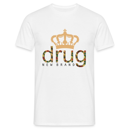 drug krone - Männer T-Shirt