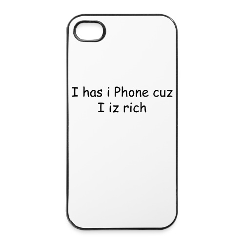 Rich Peeps  iPhone Case - iPhone 4/4s Hard Case