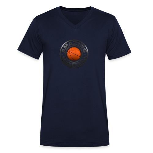 Amazing Basketball - T-shirt bio col V Stanley & Stella Homme
