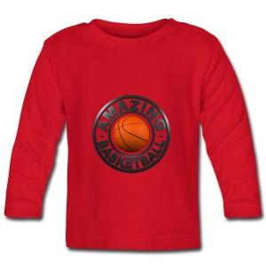 Amazing Basketball - T-shirt manches longues Bébé