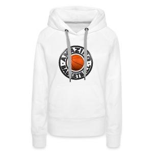 Amazing Basketball - Sweat-shirt à capuche Premium pour femmes
