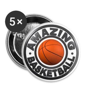 Amazing Basketball - Badge moyen 32 mm