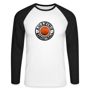 Amazing Basketball - T-shirt baseball manches longues Homme