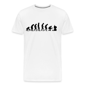 Evolution of Geek - Men's Premium T-Shirt