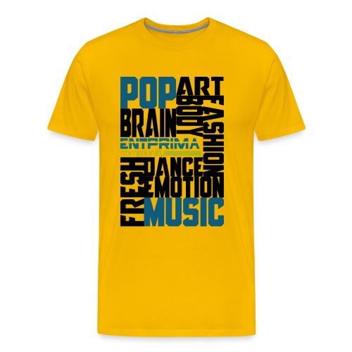 ENTPRIMA Claim A Community-Edition - Männer Premium T-Shirt