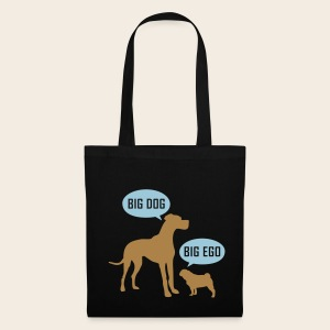Big Dog vs. Big Ego Tasche - Stoffbeutel
