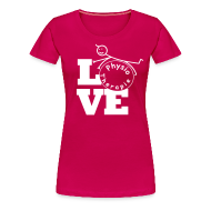 T-Shirts ~ Frauen Premium T-Shirt ~ LOVE Physiotherapie