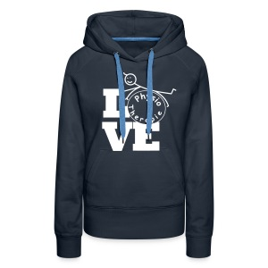 LOVE Physiotherapie - Frauen Premium Hoodie