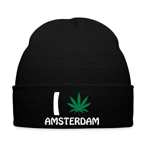I love Amsterdam - Wintermütze