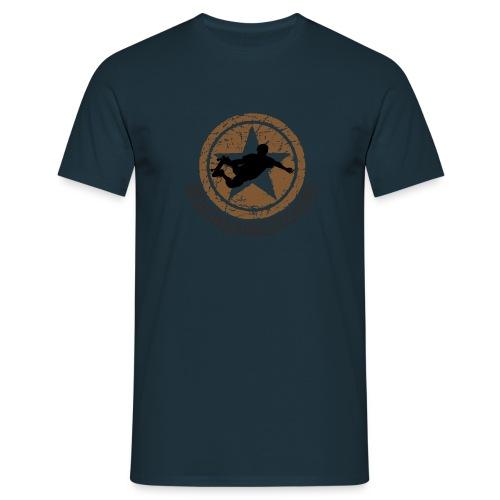 SKATE-BOARD ETOILE - T-shirt Homme