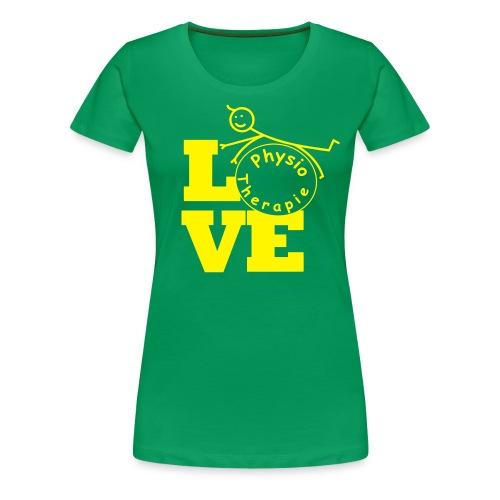 LOVE Physiotherapie - Frauen Premium T-Shirt