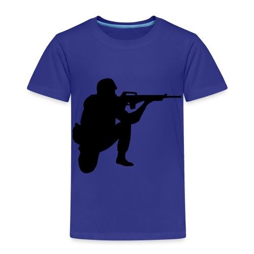 sniper boy - Børne premium T-shirt