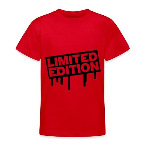 T-Shirt Limited Edition ! - Maglietta per ragazzi