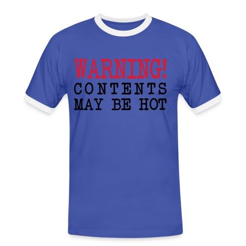 Warning - Men's Ringer Shirt