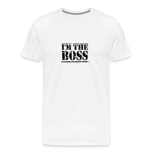 T-Shirt I'm the Boss - Maglietta Premium da uomo