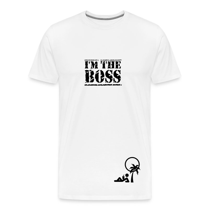 T-Shirt I'm the Boss - Maglietta Premium da uomo