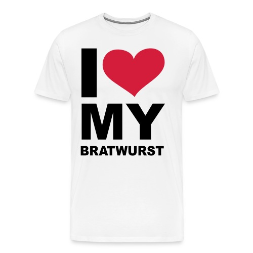 T-shirt, Bradwurst (Available in all colours) - Men's Premium T-Shirt