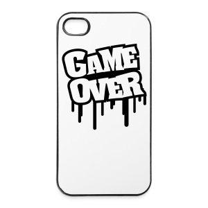Cover Iphone 4/4s Game Over - Custodia rigida per iPhone 4/4s