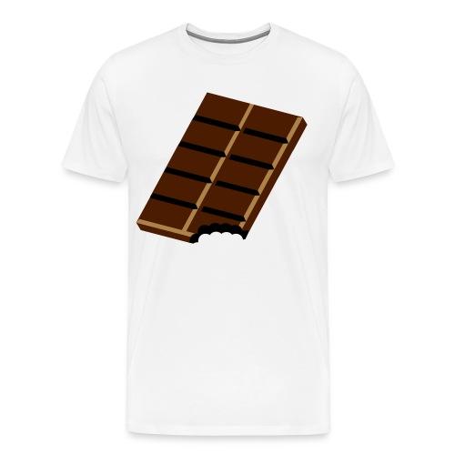 Chocolat - T-shirt Premium Homme