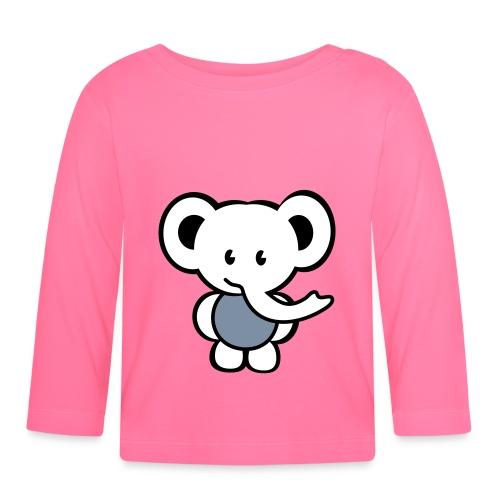 Langærmet babyshirt