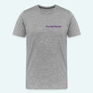 Men's Purple Logo T-Shirt - Star Back - Men's Premium T-Shirt