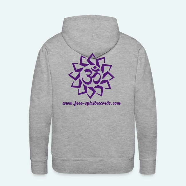 50417280 Free-Spirit Records Merchandise Store | Mens Purple Logo Hoodie ...