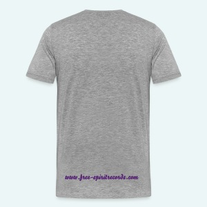 Men's Purple Logo T-Shirt - Star Sleeve - Men's Premium T-Shirt