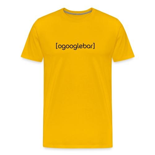 Ogooglebar herre - Men's Premium T-Shirt