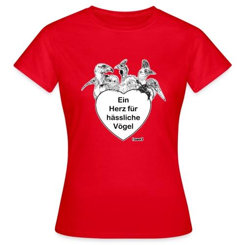 1zwo3 Vögel - Frauen T-Shirt
