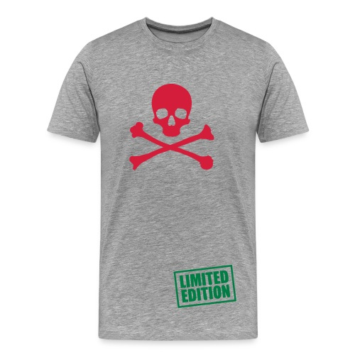 skull fantastic t-shirt |limited edition|! - Men's Premium T-Shirt