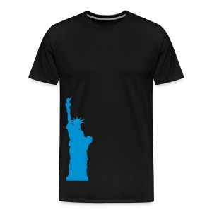 state of liberty in all colours! - Men's Premium T-Shirt