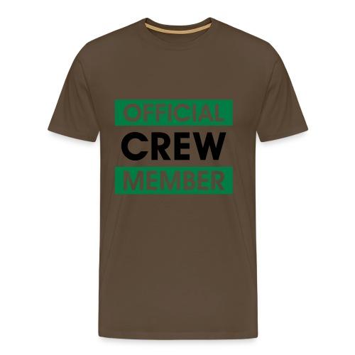 official crew member  - Men's Premium T-Shirt