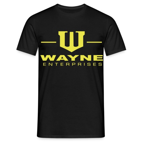 Wayne Enterprises [T-Shirt] [black-yellow] - Männer T-Shirt