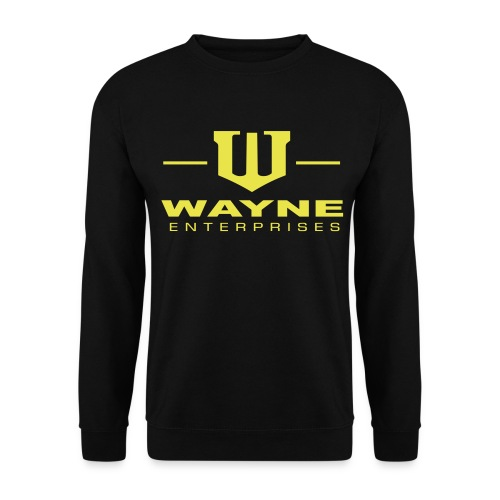 Wayne Enterprises [black-yellow] - Männer Pullover